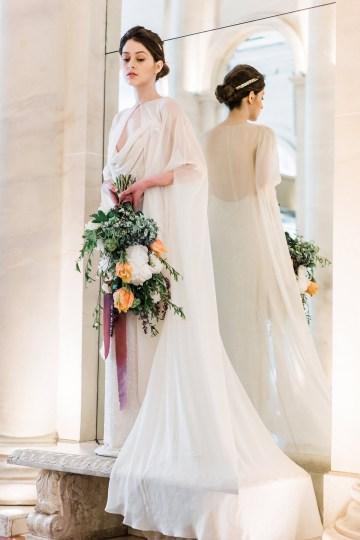Sparkling Art Deco Wedding Inspiration From NYC | Mibellarosa | Jenny Fu Studio 16