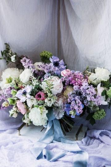 Sparkling Art Deco Wedding Inspiration From NYC | Mibellarosa | Jenny Fu Studio 23