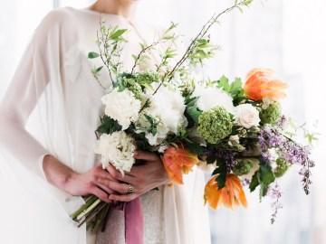 Sparkling Art Deco Wedding Inspiration From NYC | Mibellarosa | Jenny Fu Studio 34