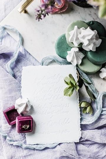 Sparkling Art Deco Wedding Inspiration From NYC | Mibellarosa | Jenny Fu Studio 4