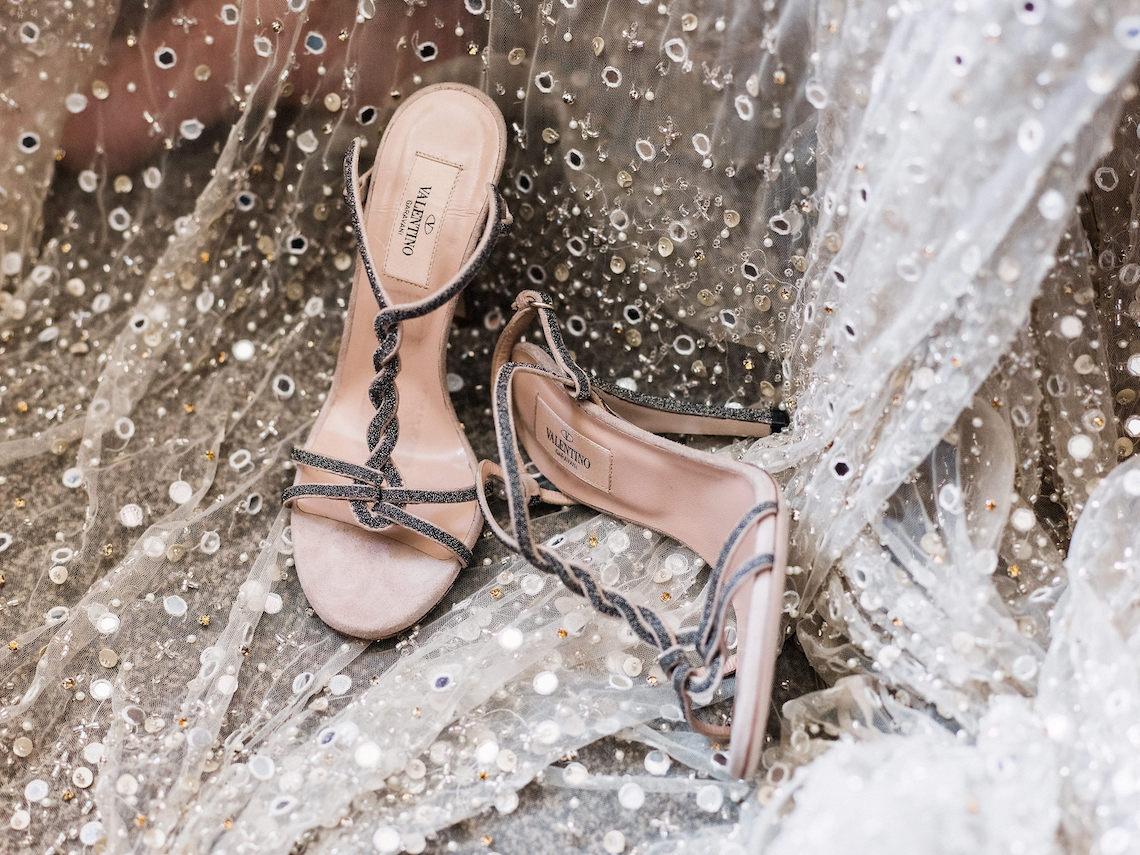Sparkling Art Deco Wedding Inspiration From NYC | Mibellarosa | Jenny Fu Studio 40