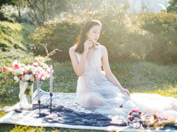 Whimsical Meadow Wedding Inspiration With Dried Florals   Olea & Fig Studio   The Stage Photography 45