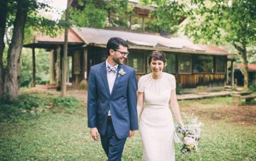 Colorful & Hip Kentucky Countryside Wedding