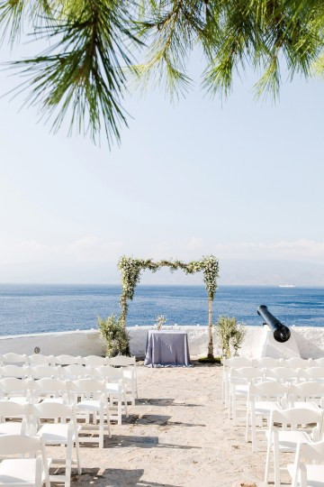 Delightfully Pretty & Wildy Fun Greek Destination Wedding | Penelope Photography 15