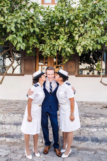Delightfully Pretty & Wildy Fun Greek Destination Wedding | Penelope Photography 19