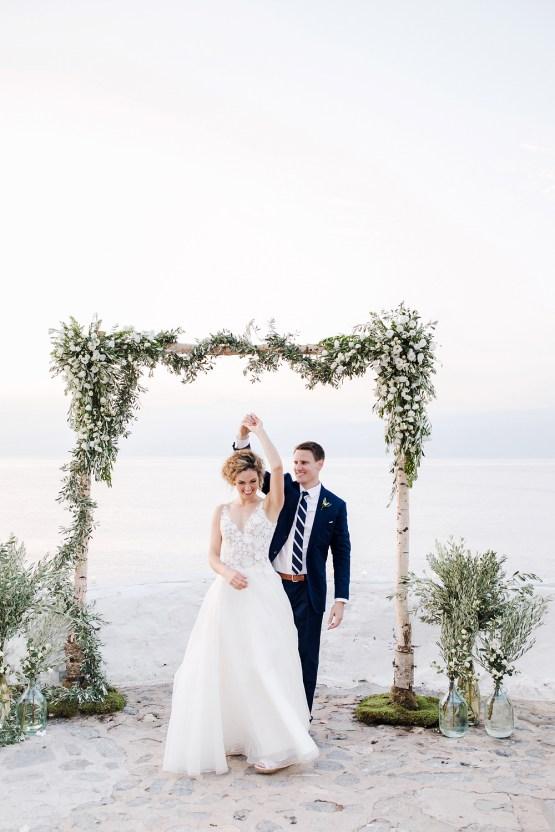 Delightfully Pretty & Wildy Fun Greek Destination Wedding | Penelope Photography 26