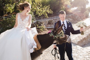Delightfully Pretty & Wildy Fun Greek Destination Wedding | Penelope Photography 38
