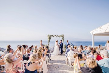 Delightfully Pretty & Wildy Fun Greek Destination Wedding | Penelope Photography 39