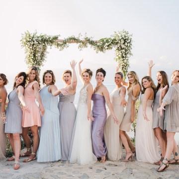 Delightfully Pretty & Wildy Fun Greek Destination Wedding | Penelope Photography 42