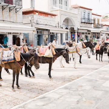 Delightfully Pretty & Wildy Fun Greek Destination Wedding | Penelope Photography 47