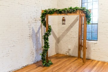 Literary Chic Loft Wedding (With A Harry Potter Cake!)   Brio Photography 17