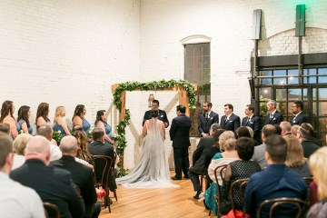 Literary Chic Loft Wedding (With A Harry Potter Cake!)   Brio Photography 19