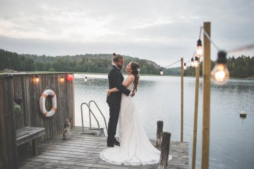 Relaxed & Woodsy Swedish Island Wedding | Sara Kollberg 24