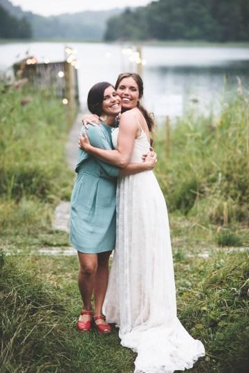 Relaxed & Woodsy Swedish Island Wedding | Sara Kollberg 7