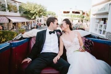 Romantic & Luxe Capri Destination Wedding   Purewhite Photography 5
