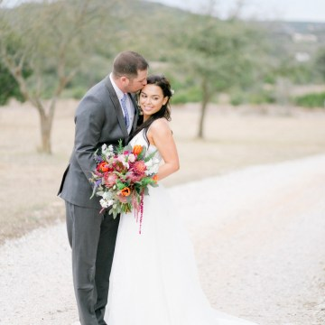 Summer Berry Wedding Ideas From The Hill Country | Jessica Chole 44