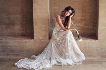The Romantic & Sparkling Anna Campbell Wanderlust Wedding Dress Collection | Amelie Dress-3