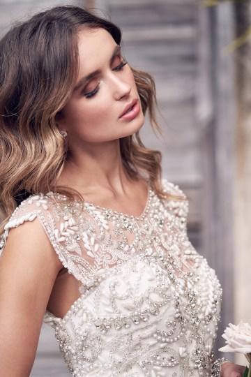 The Romantic & Sparkling Anna Campbell Wanderlust Wedding Dress Collection | Aria Dress-3