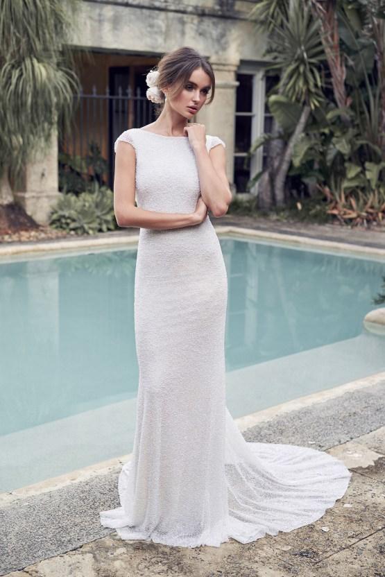 The Romantic & Sparkling Anna Campbell Wanderlust Wedding Dress Collection | Blair Dress-1