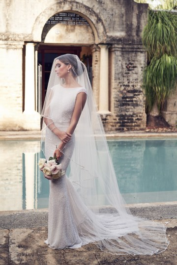 The Romantic & Sparkling Anna Campbell Wanderlust Wedding Dress Collection | Blair Dress-5