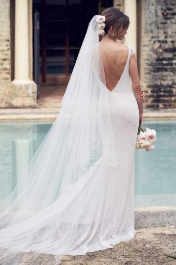 The Romantic & Sparkling Anna Campbell Wanderlust Wedding Dress Collection | Blair Dress-6