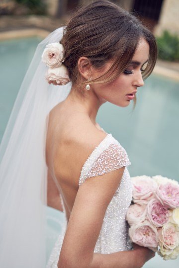 The Romantic & Sparkling Anna Campbell Wanderlust Wedding Dress Collection | Blair Dress-7