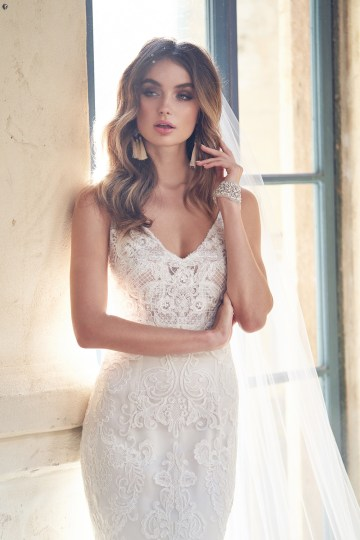 The Romantic & Sparkling Anna Campbell Wanderlust Wedding Dress Collection | Harlow Dress-1