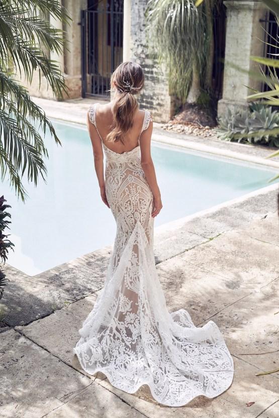 The Romantic & Sparkling Anna Campbell Wanderlust Wedding Dress Collection | Jamie Dress (Trumpet Skirt)-6