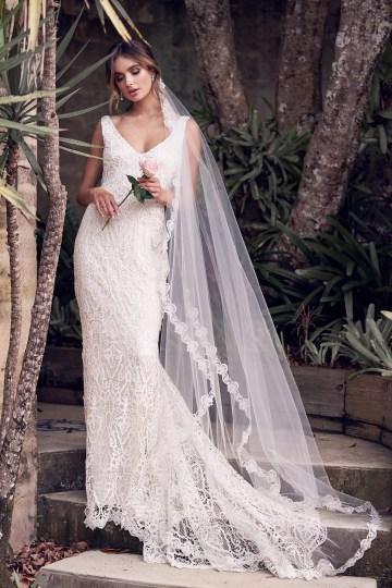 The Romantic & Sparkling Anna Campbell Wanderlust Wedding Dress Collection | Kira Dress-5