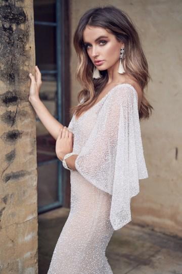 Wanda Dress (Draped Sleeve)-6