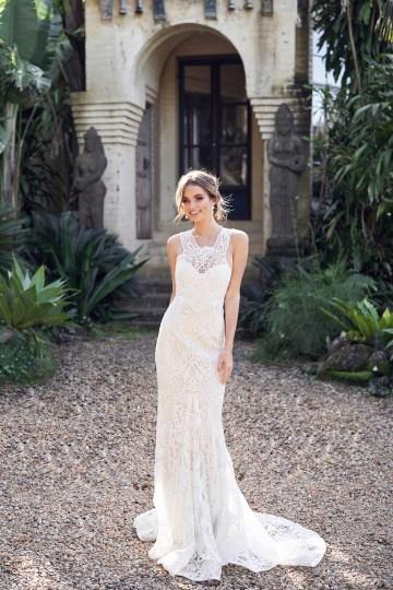 Winter Dress (Trumpet Skirt)-1