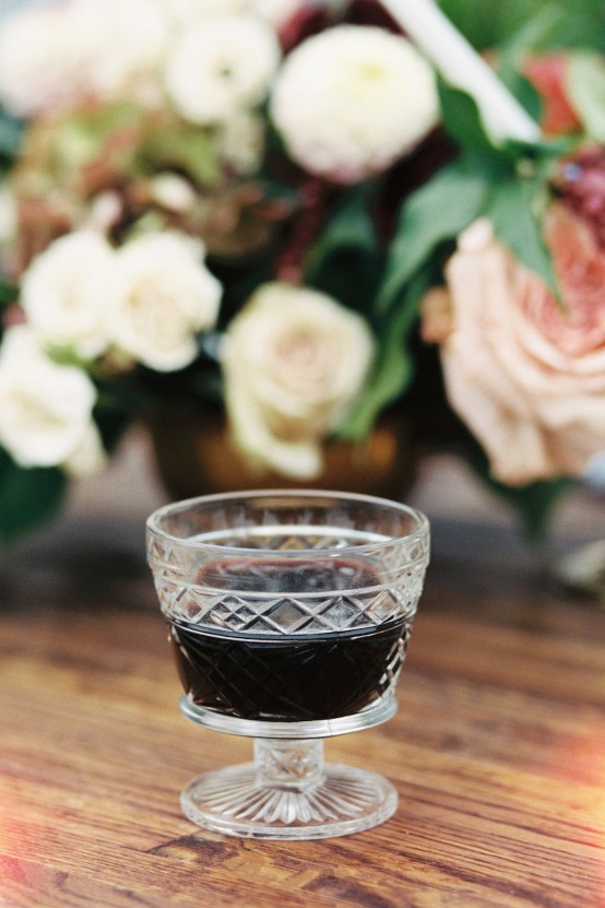 Artistic Burgundy & Fig Beach Wedding Inspiration | Rosencrown Photography 44
