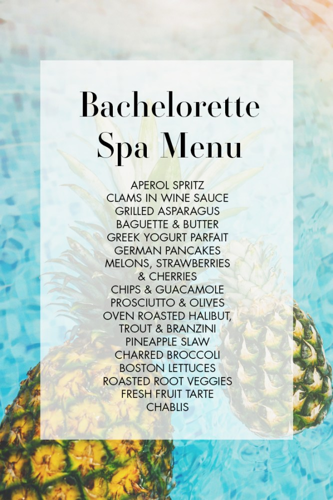 How To Throw A Chill AF Bachelorette Spa Weekend