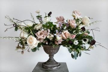 Celestial Ballerina Meets Art Gallery Wedding Inspiration   Alleksana Photography 1