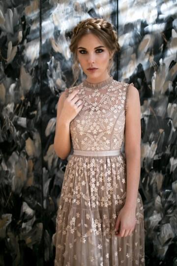 Celestial Ballerina Meets Art Gallery Wedding Inspiration   Alleksana Photography 14