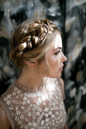 Celestial Ballerina Meets Art Gallery Wedding Inspiration   Alleksana Photography 15