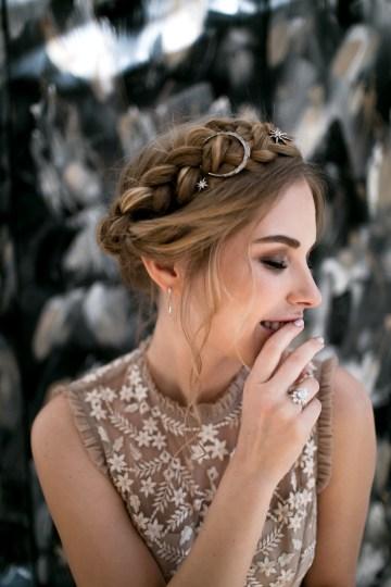 Celestial Ballerina Meets Art Gallery Wedding Inspiration   Alleksana Photography 26