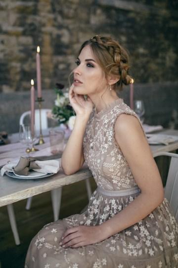 Celestial Ballerina Meets Art Gallery Wedding Inspiration   Alleksana Photography 31