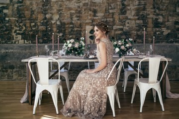 Celestial Ballerina Meets Art Gallery Wedding Inspiration   Alleksana Photography 6