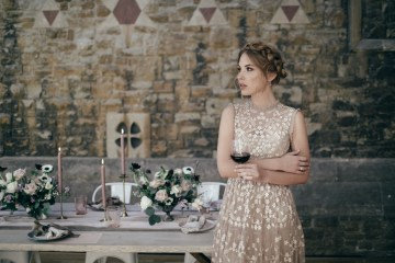 Celestial Ballerina Meets Art Gallery Wedding Inspiration   Alleksana Photography 7