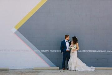 Cool Urban LA SmogShoppe Wedding | Lets Frolic Together 1
