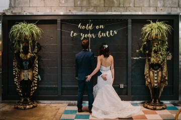 Cool Urban LA SmogShoppe Wedding | Lets Frolic Together 9