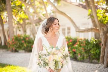 Elegant Pretty Pink Beach Wedding | Stephanie Smith 4