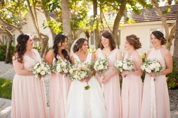 Elegant Pretty Pink Beach Wedding | Stephanie Smith 6