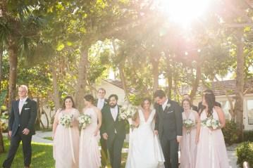Elegant Pretty Pink Beach Wedding | Stephanie Smith 8