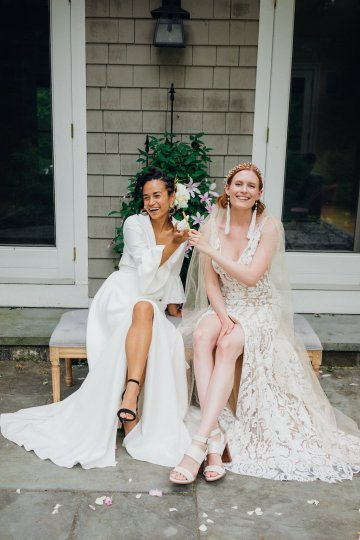 High Style; Luxurious Weed Wedding Ideas | Claire Eliza | High Herstory | Sarah Seven 26