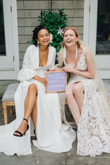 High Style; Luxurious Weed Wedding Ideas | Claire Eliza | High Herstory | Sarah Seven 27