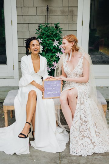 High Style; Luxurious Weed Wedding Ideas | Claire Eliza | High Herstory | Sarah Seven 28