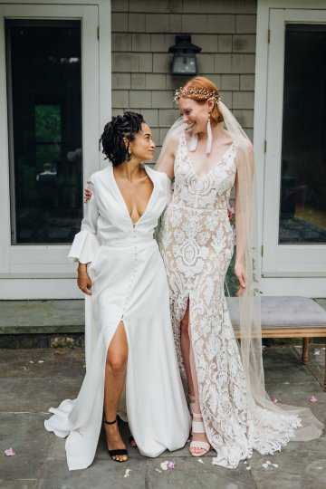 High Style; Luxurious Weed Wedding Ideas | Claire Eliza | High Herstory | Sarah Seven 30