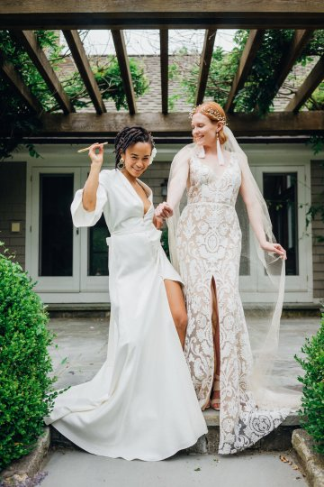 High Style; Luxurious Weed Wedding Ideas | Claire Eliza | High Herstory | Sarah Seven 36